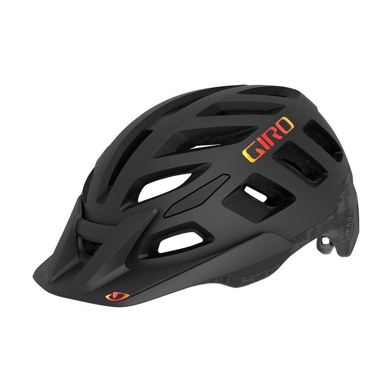 Radix MIPS Dirt Helmet Mens Womens MTB Matte Black Hypnotic L 59-63cm MIPS