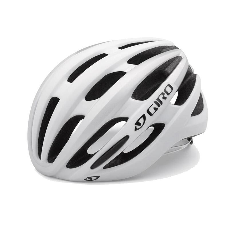 Foray Road Helmet Mens Road Matte White/Silver L 59-63cm