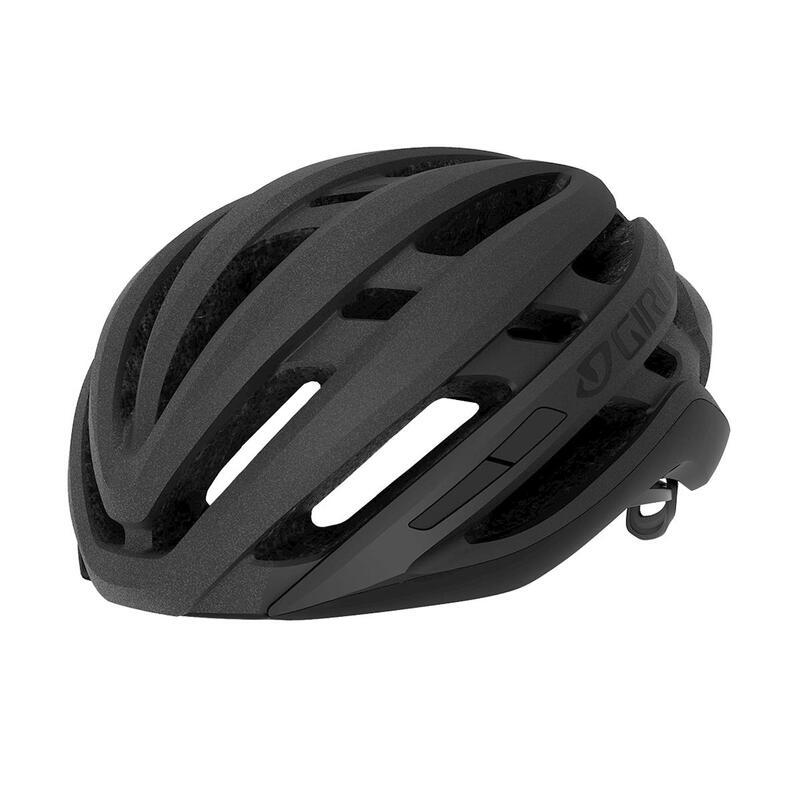 Agilis Road Helmet Mens Womens Road Matte Black Fade L 59-63cm