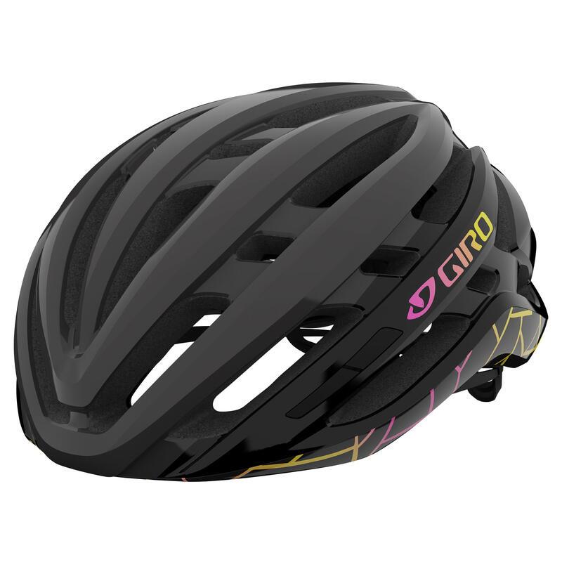 Agilis Women's Road Helmet Road Matte Black Craze M 55-59cm