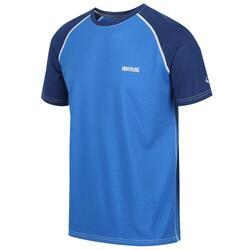 Tornell Homme Fitness T-Shirt - Bleu moyen / bleu