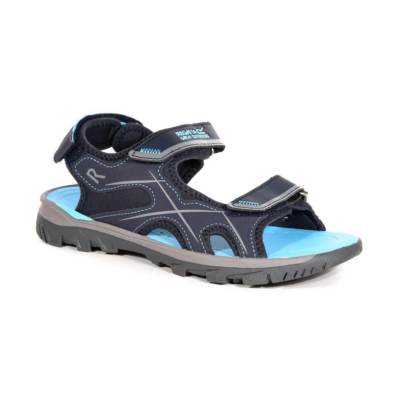 Lady Kota Drift Dames Hiking Sandalen - Marineblauw / Lichtblauw