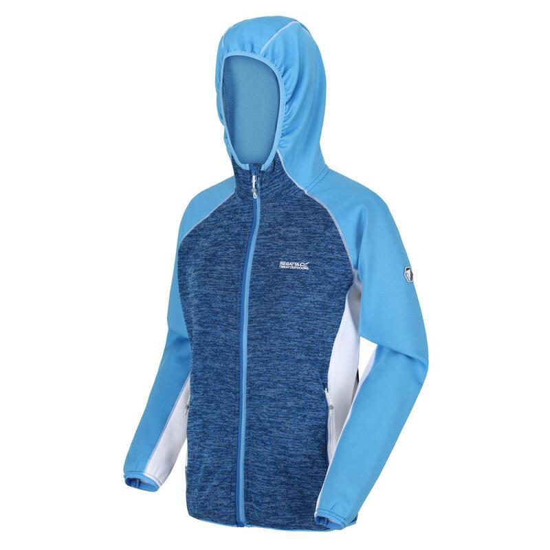 Walbury Dames Fitness Fleece - Blauw / donkerblauw
