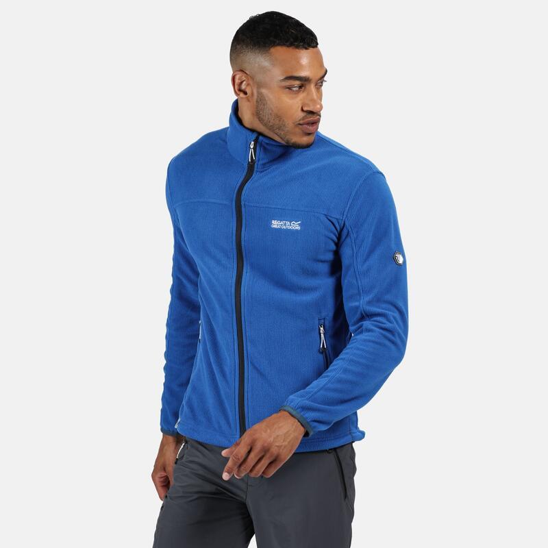Stanner Heren Fitness Fleece - Donkerblauw / marineblauw