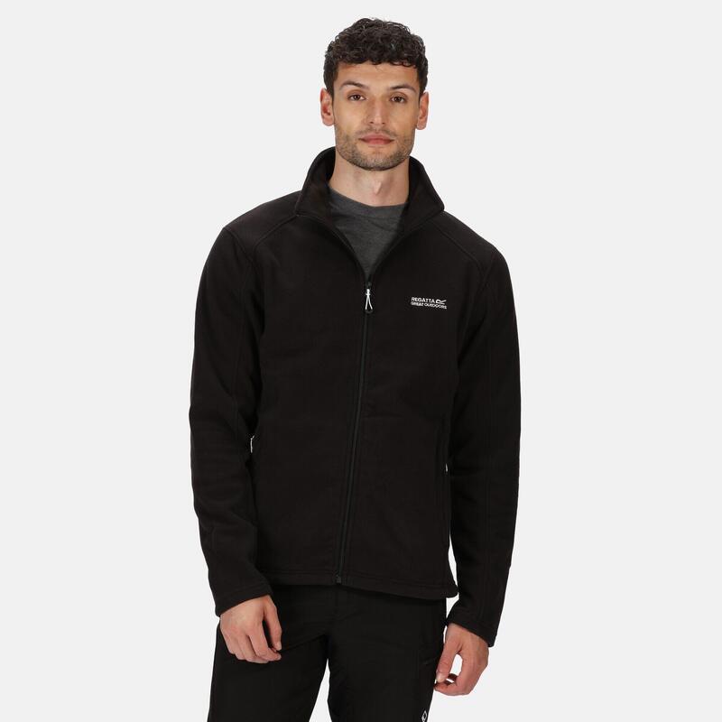 Hedman II Heren Hiking Fleece - Zwart zwart