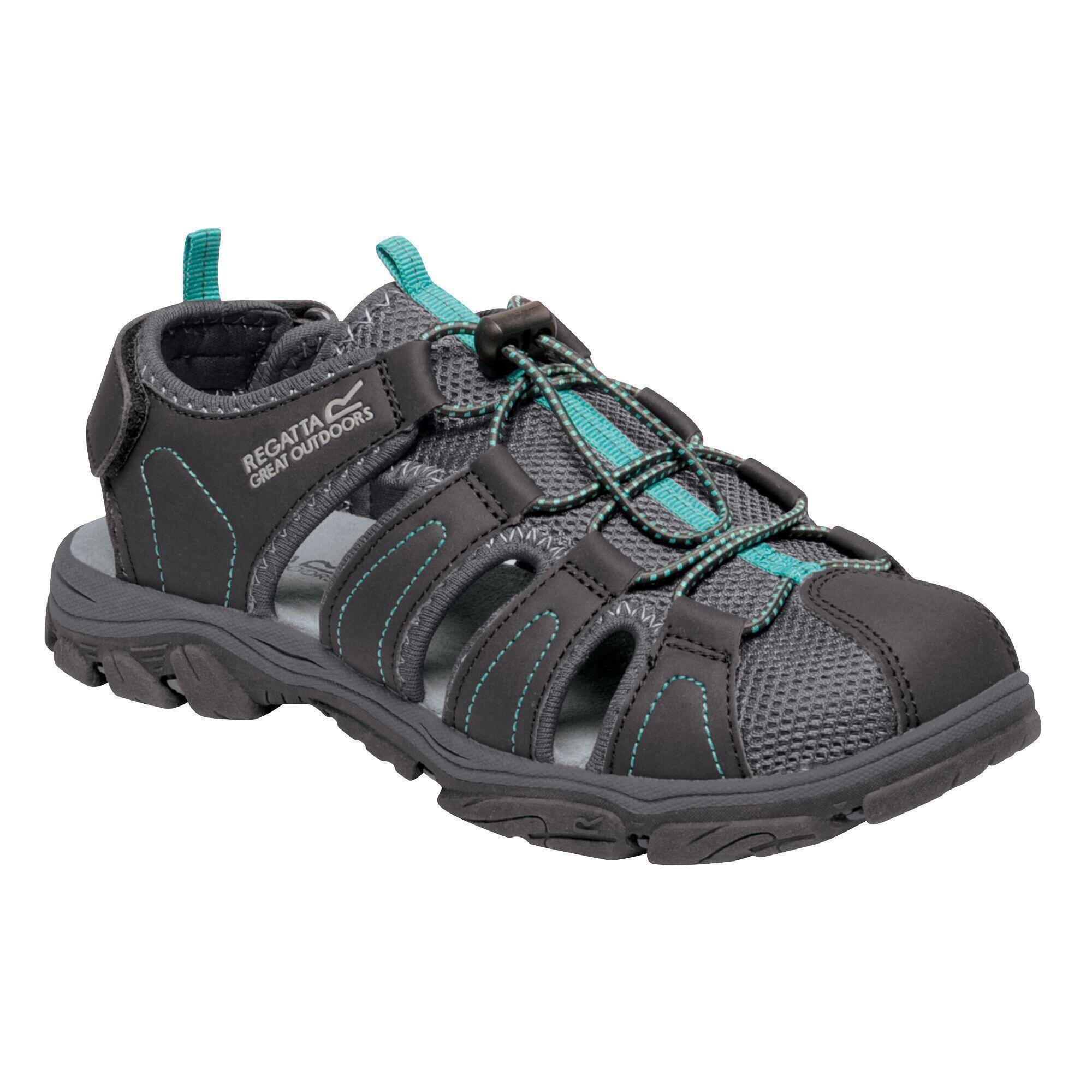 Regatta Femme Santa Cruz Chaussures De Marche Sandales Gris Bleu Sports Outdoors