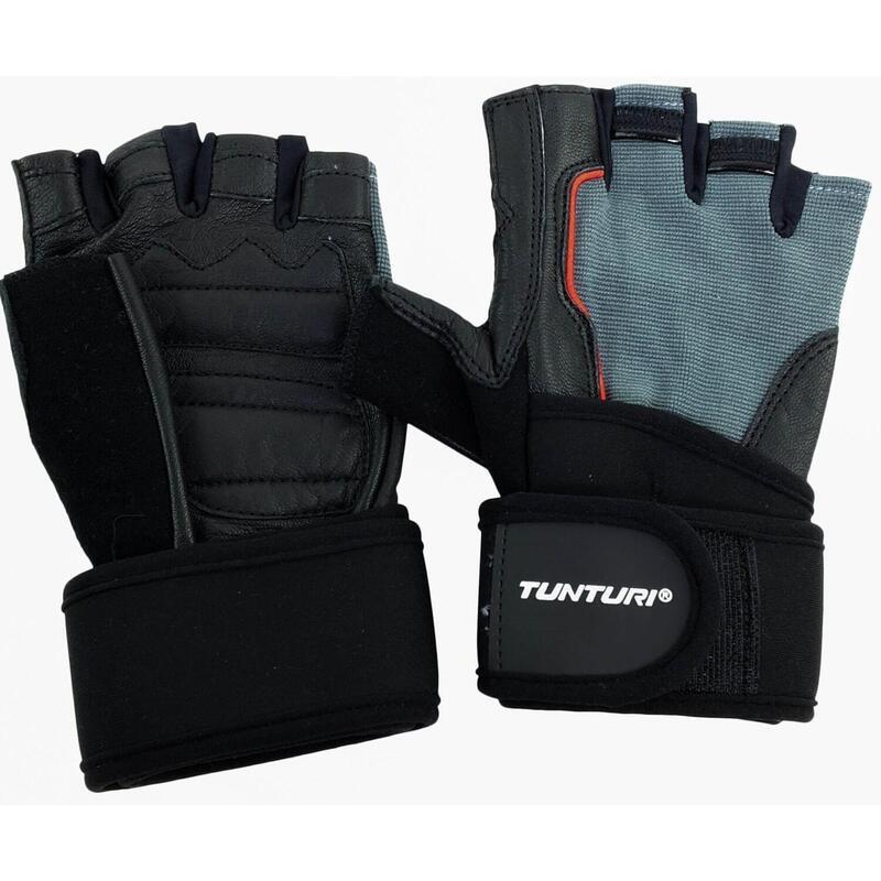 Tunturi Fit Power Fitness Handschoenen met Wrist Wrap - L