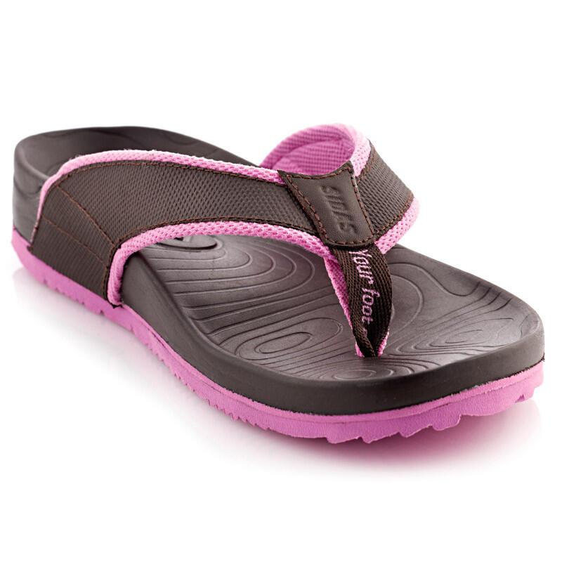 Sandales avec semelle 3D, maintien du pied et voûte plantaire - 3D Lounge Women