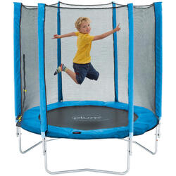 Plum trampoline Junior avec filet de sécurité bleu 4,5ft