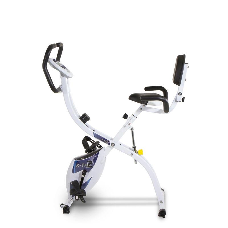 Vélo d'appartement pliable X_TRI II YF910. 3 positions. Semi-allongé