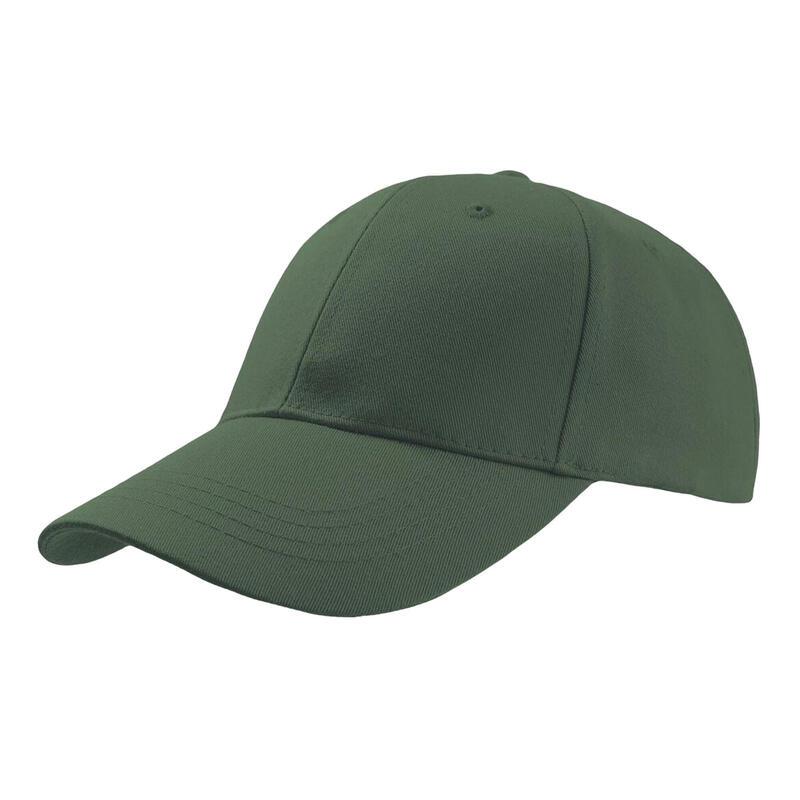 Zoom Sports 6 Panel Baseball Cap (Green)