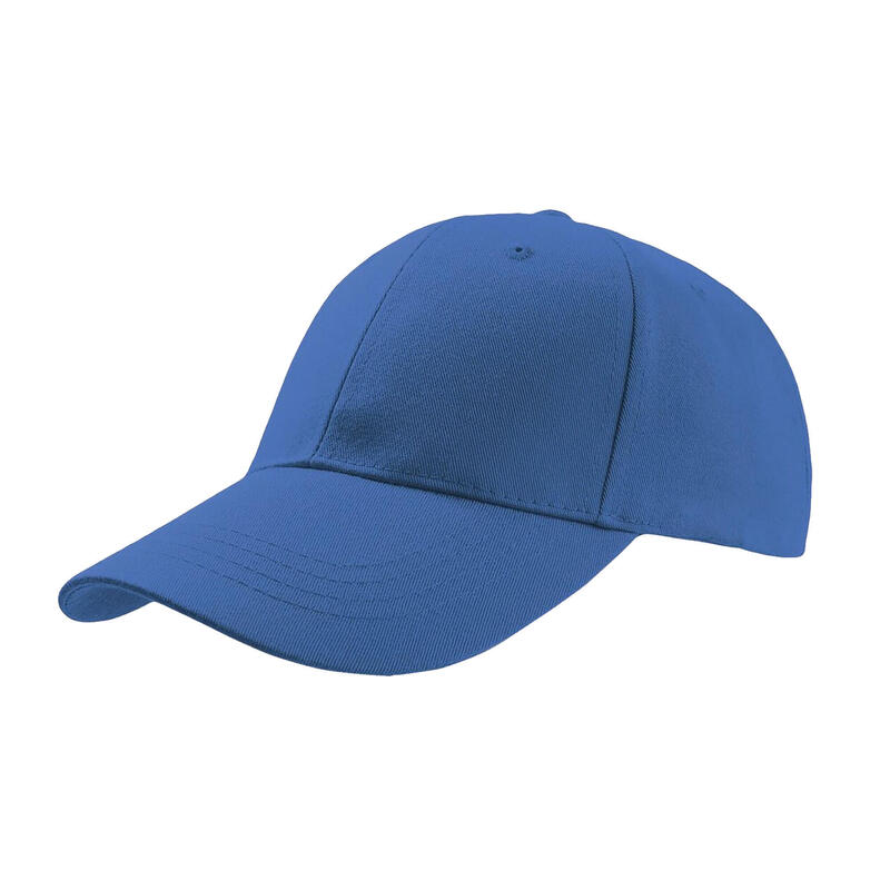 Zoom Sports 6 Panel Baseball Cap (Pack of 2) (Royal)