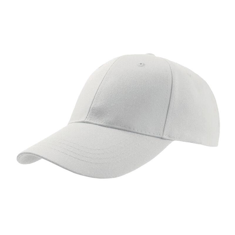 Zoom Sports 6 Panel Baseball Cap (White)