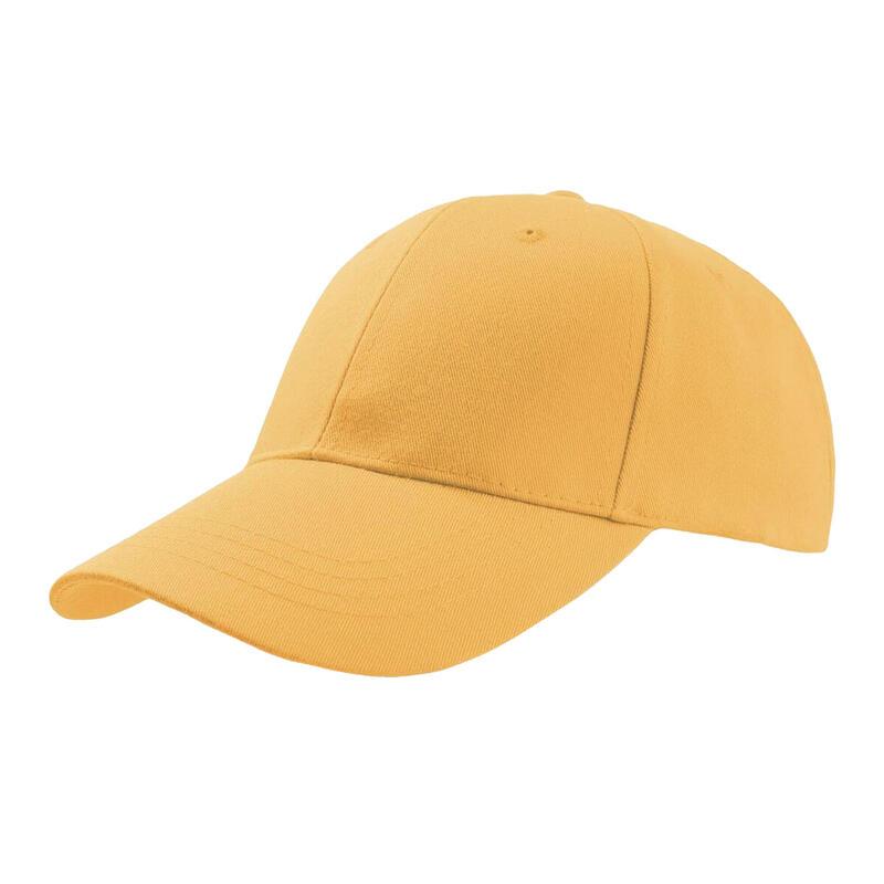 Zoom Sports 6 Panel Baseball Cap (Yellow)