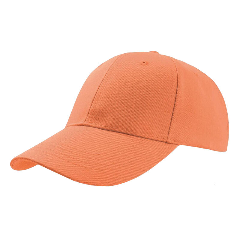 Zoom Sports 6 Panel Baseball Cap (Orange)