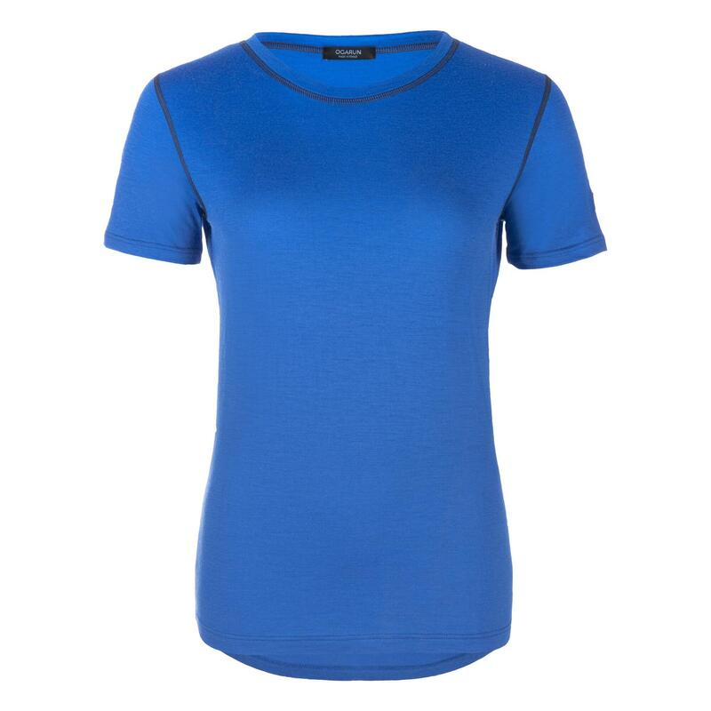 T-Shirt laine mérinos Femme 20-30°C