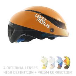 Omega Aerohelm voor schaatsen en triathlon | Oranje