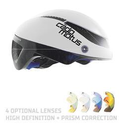 Omega Aerohelm voor schaatsen en triathlon | Wit