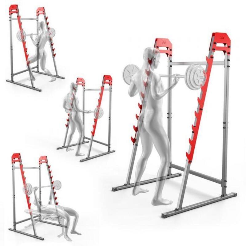 Estantería para barras - Estantería para sentadillas de varios niveles