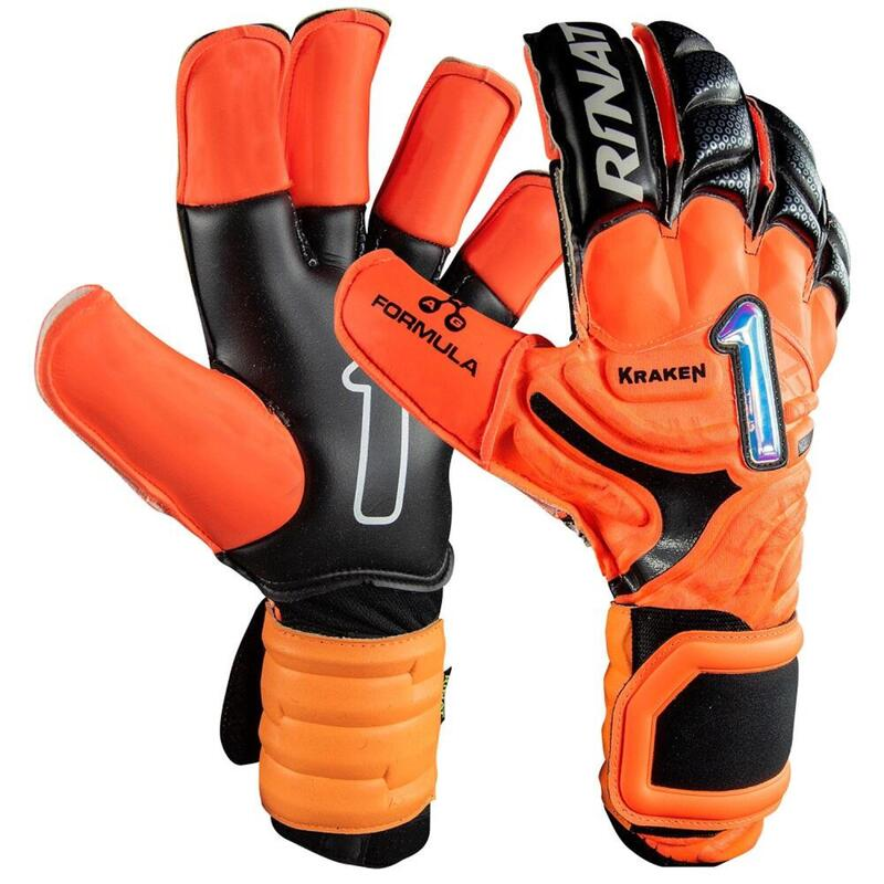 KRAKEN LETHAL PRO Gant gardien but football adulte orange noir