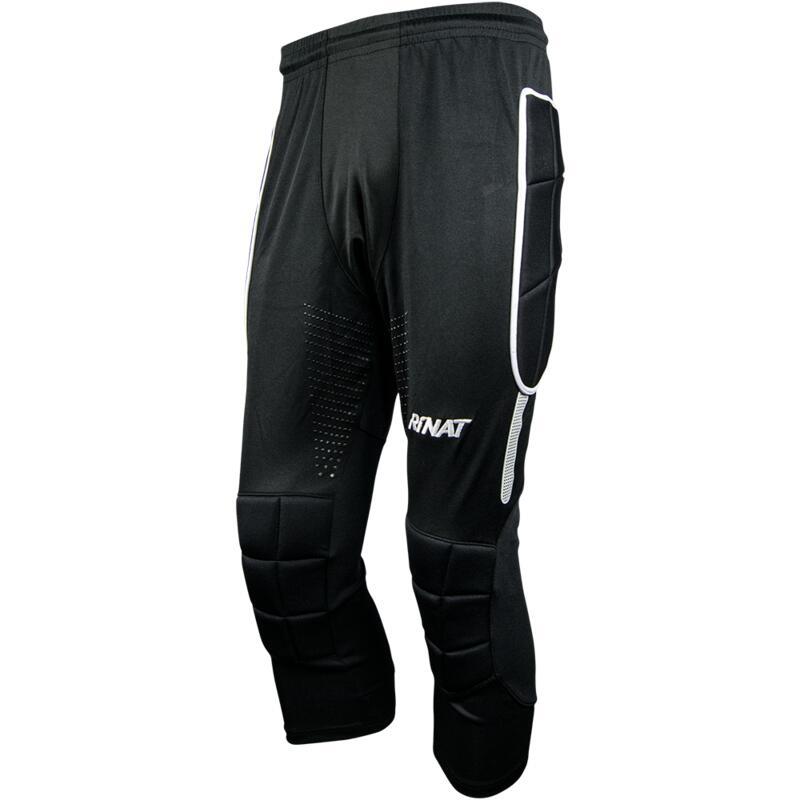 PANT 3/4 MOYÁ Pantalon gardien but football pirate avec protections Adulte Noir