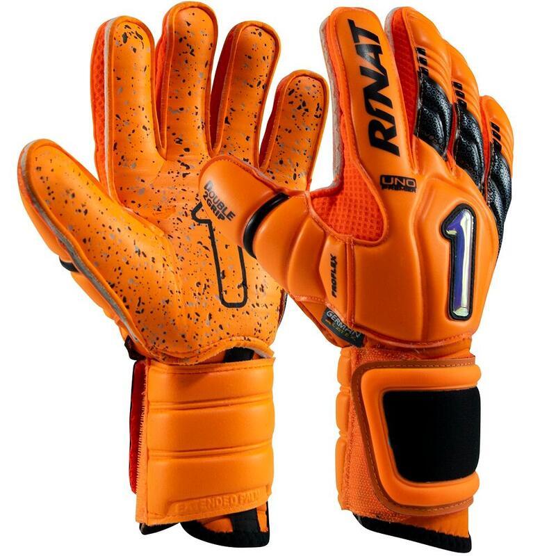 UNO PREMIER LUX PRO Gant gardien but football Adulte Orange Fluor