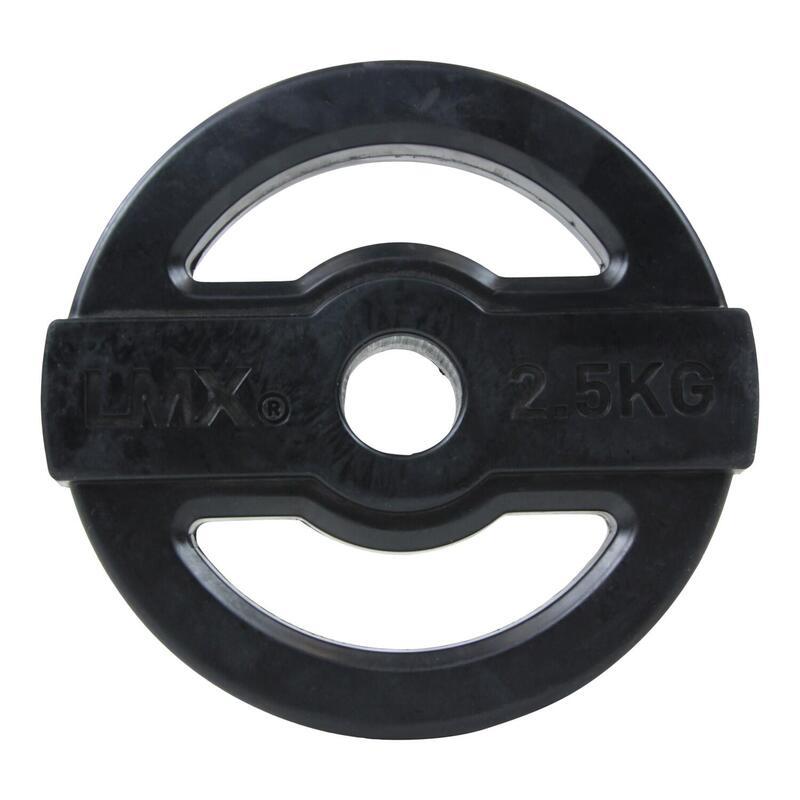 Lifemaxx Studio Pump Disc Halterschijf - 30 mm - 2,5 kg - Zwart