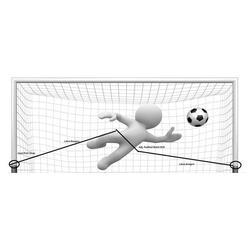 Voetbal Keeper Trainingsharnas Zwart