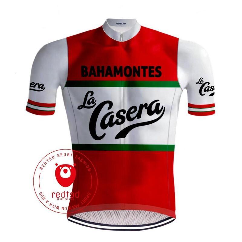 Maillot Cyclisme Vintage La Casera - RedTed