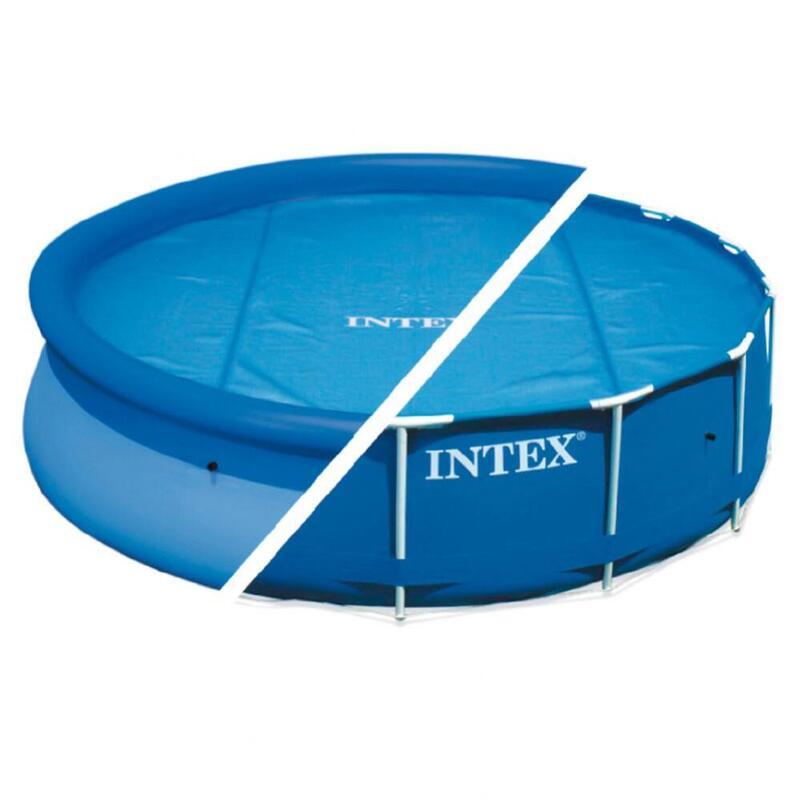 Cobertor solar INTEX piscinas Easy Set o Metal Frame 366 cm de diámetro