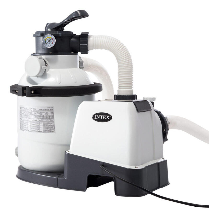 Depuradora de arena INTEX krystal clear 4500 litros/ hora 0,25 hp