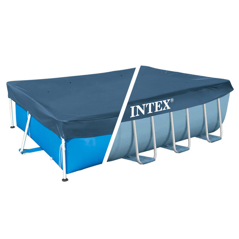 Cobertor INTEX piscina rectangular prism y small frame 300x200 cm