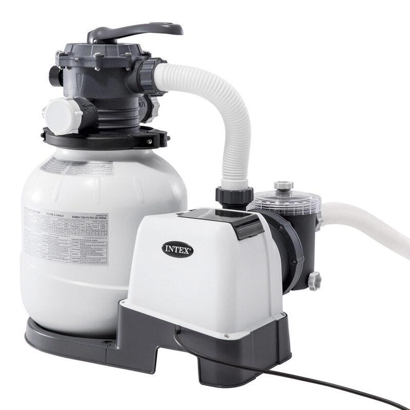 Depuradora de arena INTEX 7.900 litros/hora 0,30hp