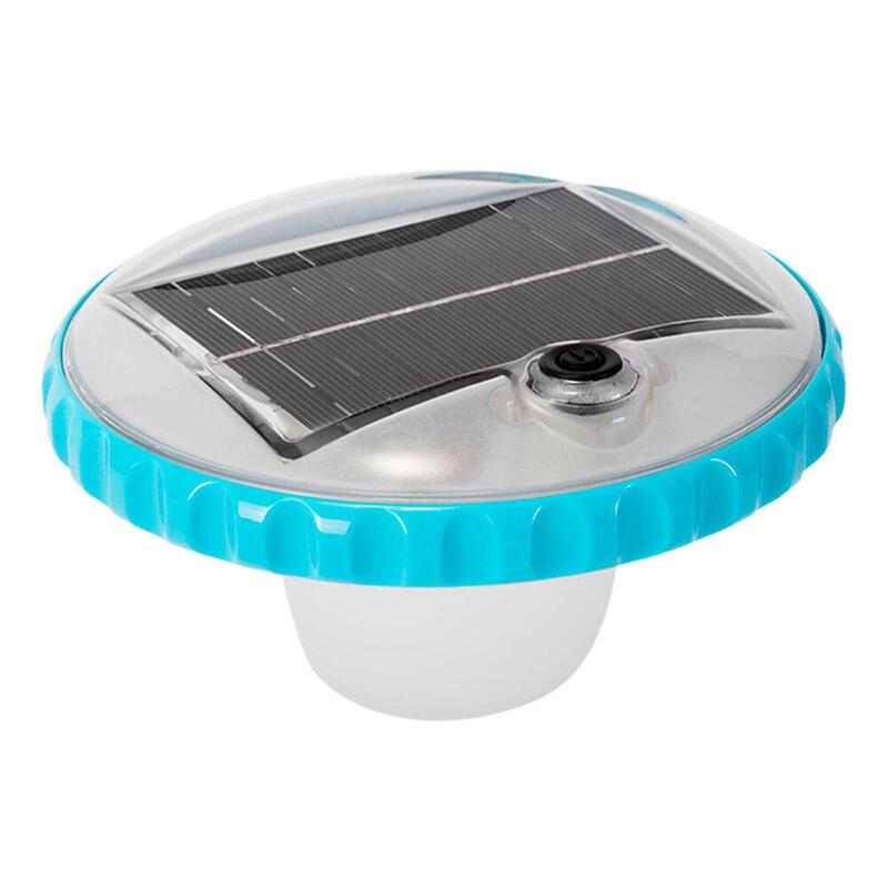 Luz led flotante de carga solar para piscinas INTEX