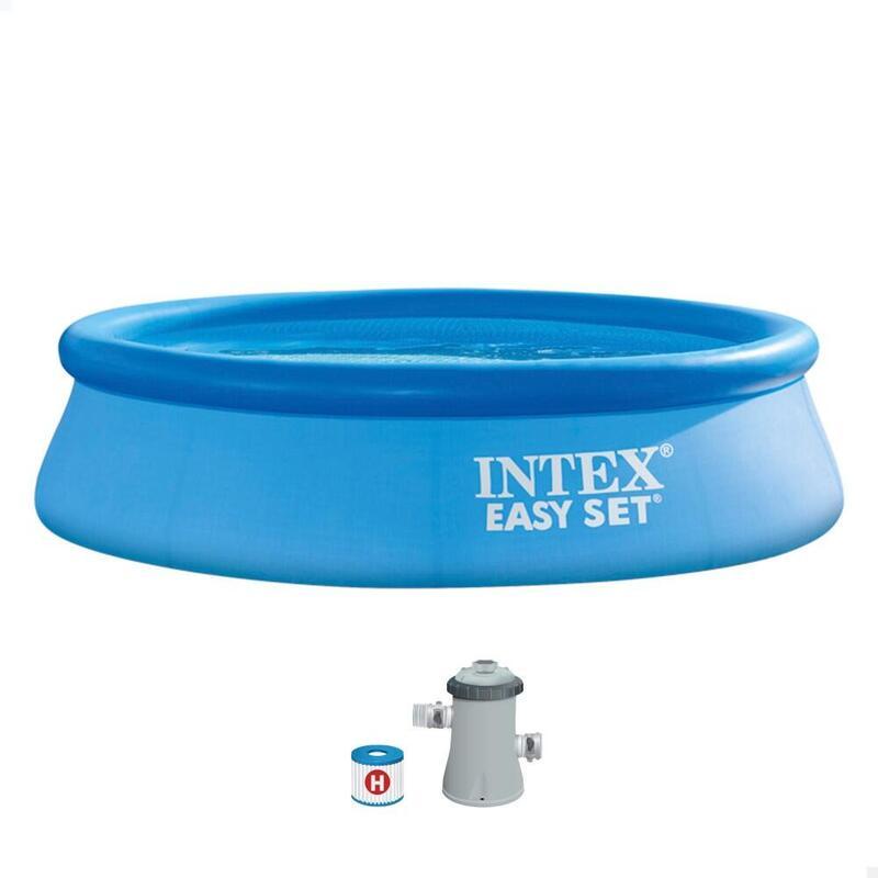 Piscina hinchable INTEX Easy Set 3853 l con depuradora