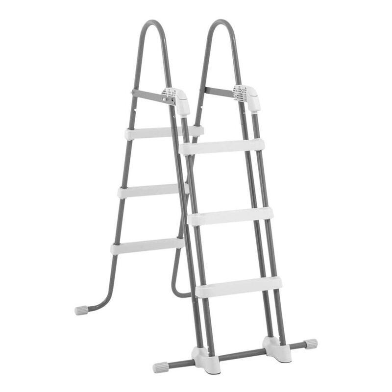 Escalera de seguridad INTEX para piscinas elevadas de altura 91-107 cm