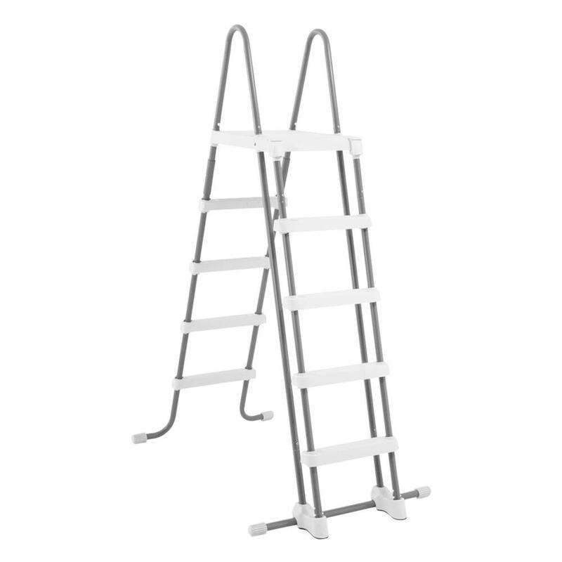 Escalera de seguridad INTEX para piscinas elevadas de altura 132 cm