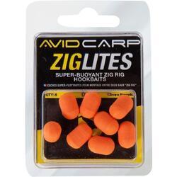 Schuim 12mm Avid Carp ziglite barrel oranje
