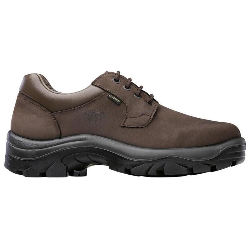 Zapatos Linea Urbana Chiruca Impermeables para Hombre Fox Enciso Marrón Gore-Tex