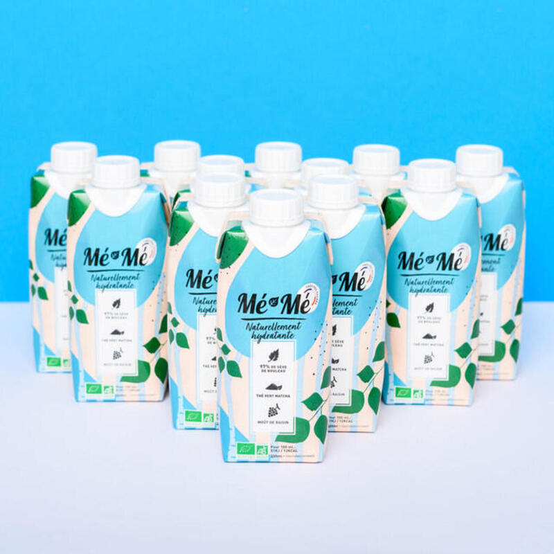 Coffret X12 Mé-Mé bio hydratante/detoxifiante 330 ml