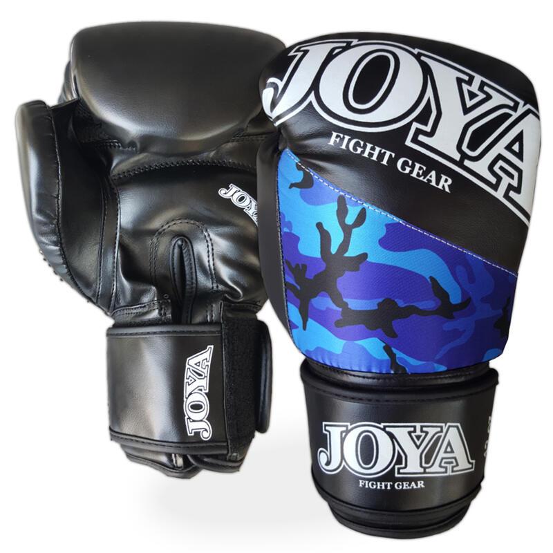 Joya bokshandschoenen Top One Camo blauw 8oz