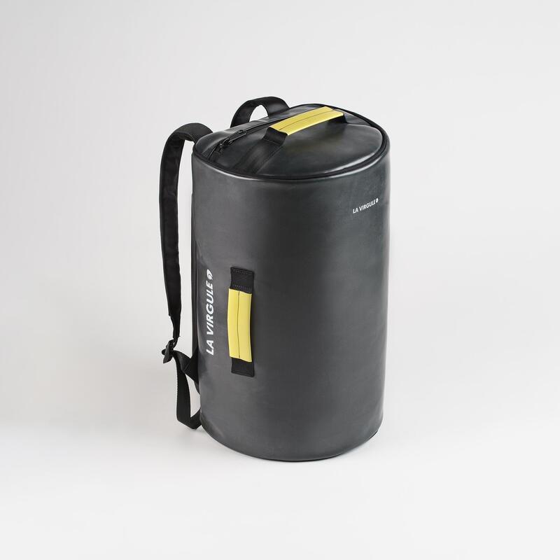 Sac weekend upcyclé - Duffel bag Hors-Bord - 35L Noir