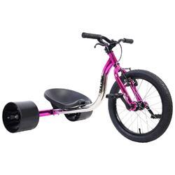"""Drift Trike Big Wheel, Roue 18"""", Rose Electro"""