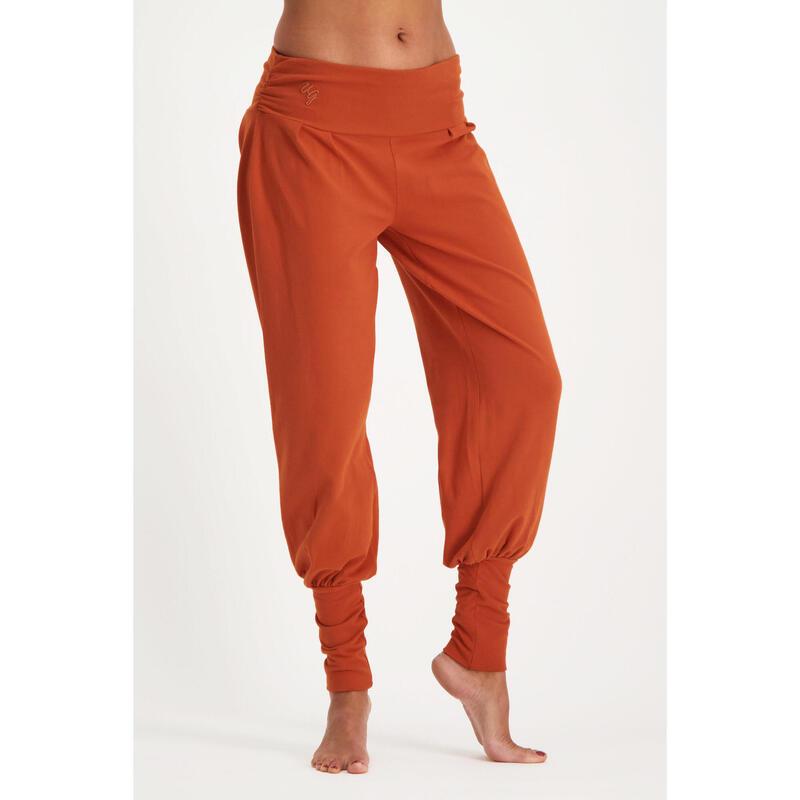 Dakini - Pantalon Aladdin ample confortable   - Rust - rouge chaud