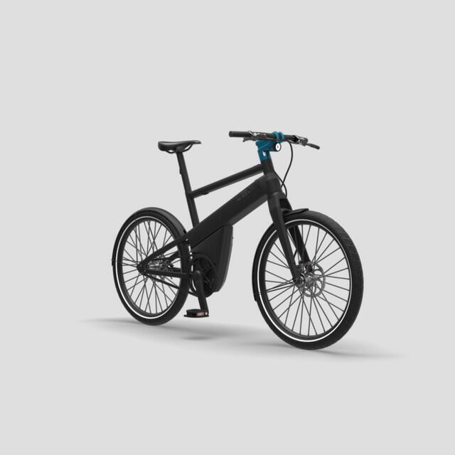 Vélo électrique urbain 100% automatique - Noir Mat