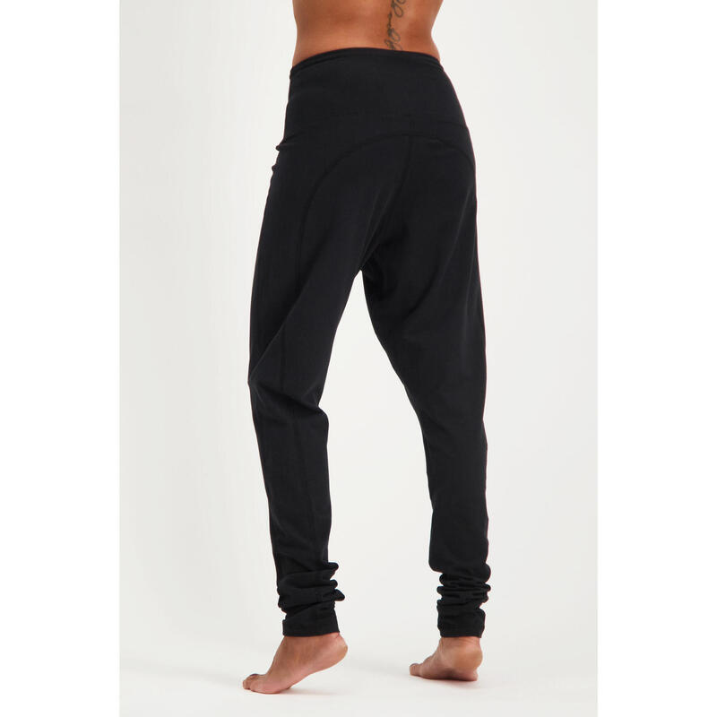 Legging de yoga Zen - Legging ample taille haute confortable - Noir