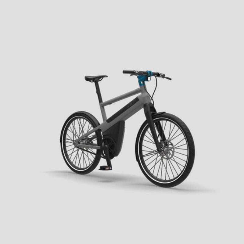 Vélo électrique urbain 100% automatique - Gris Orage Anodisé