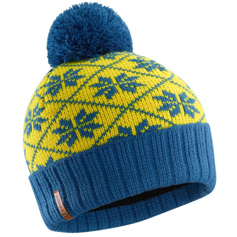 Bonnet Victor bleu et jaune