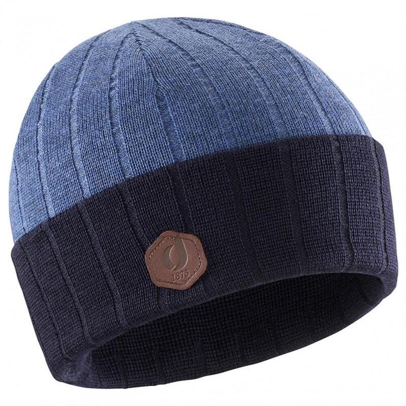 Bonnet Oscar Mérinos bleu