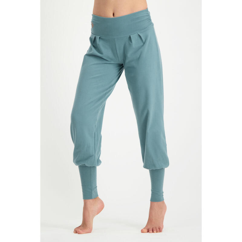 Dakini - Pantalon Aladdin ample confortable   - Bali Blue - Bleu pastel